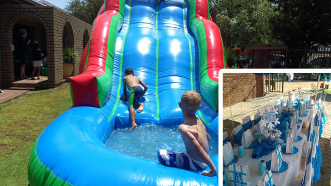 Busy B's Children's Party Hire Bloemfontein. Jumping castles