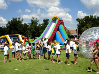 Jump and Slide inflatables hire Bloemfontein
