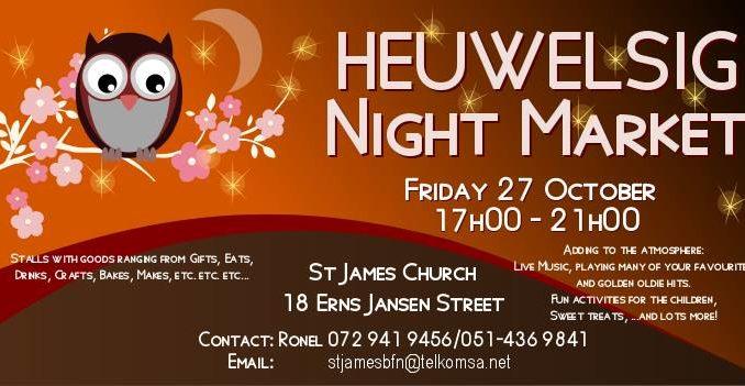 Heuwelsig Night Market - 27 October 2017