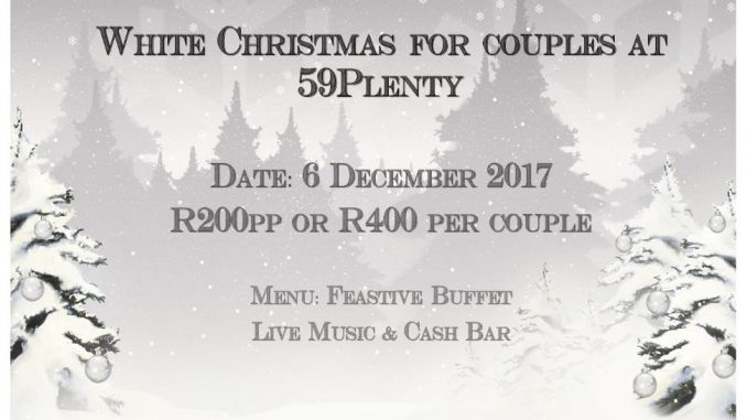 Festive Buffet - White Christmas for Couples | Bloemfontein Tourism