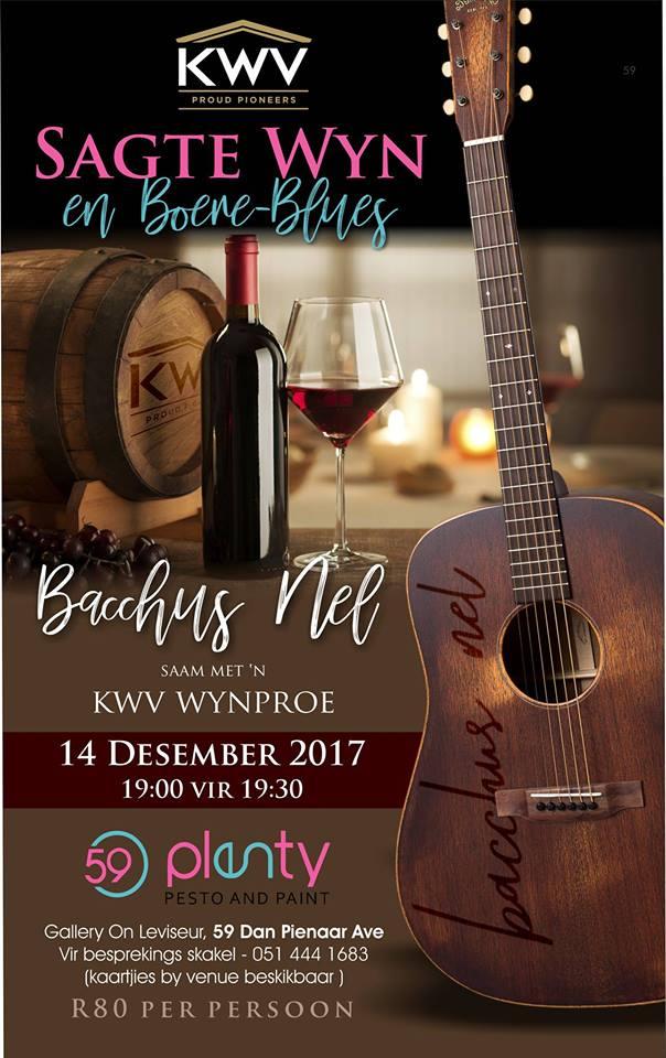 Bacchus Nel and Wine Tasting at 59Plenty | Bloemfontein Tourism
