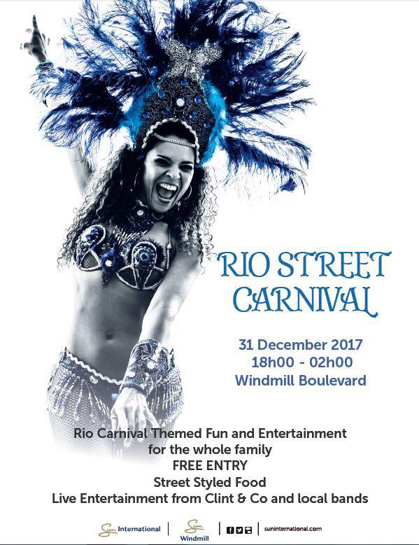 Rio Street Carnival - New Years Eve - Windmill Casino