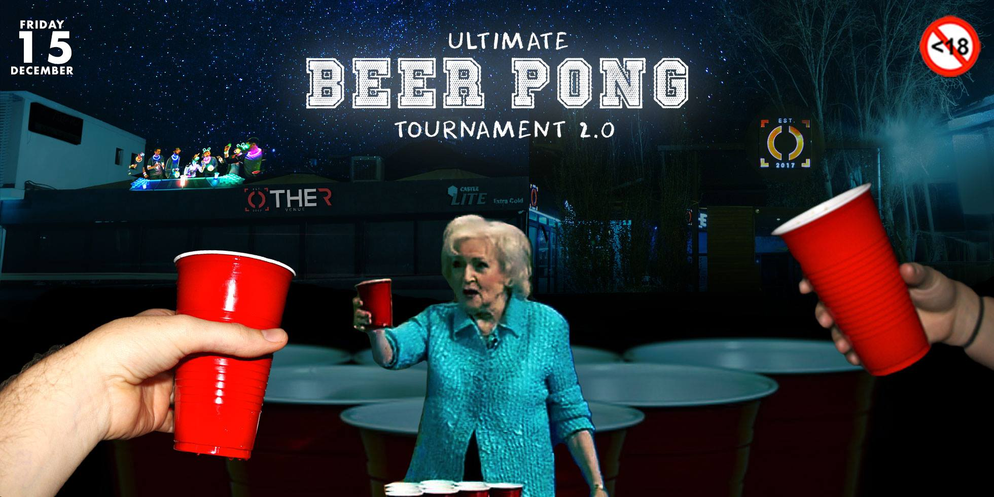 Ultimate Beer Pong Tournament 2.0 at The Other Venue