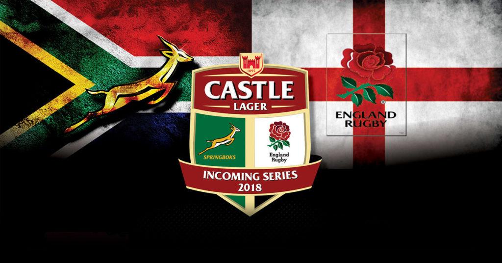 Springboks vs. England Rugby