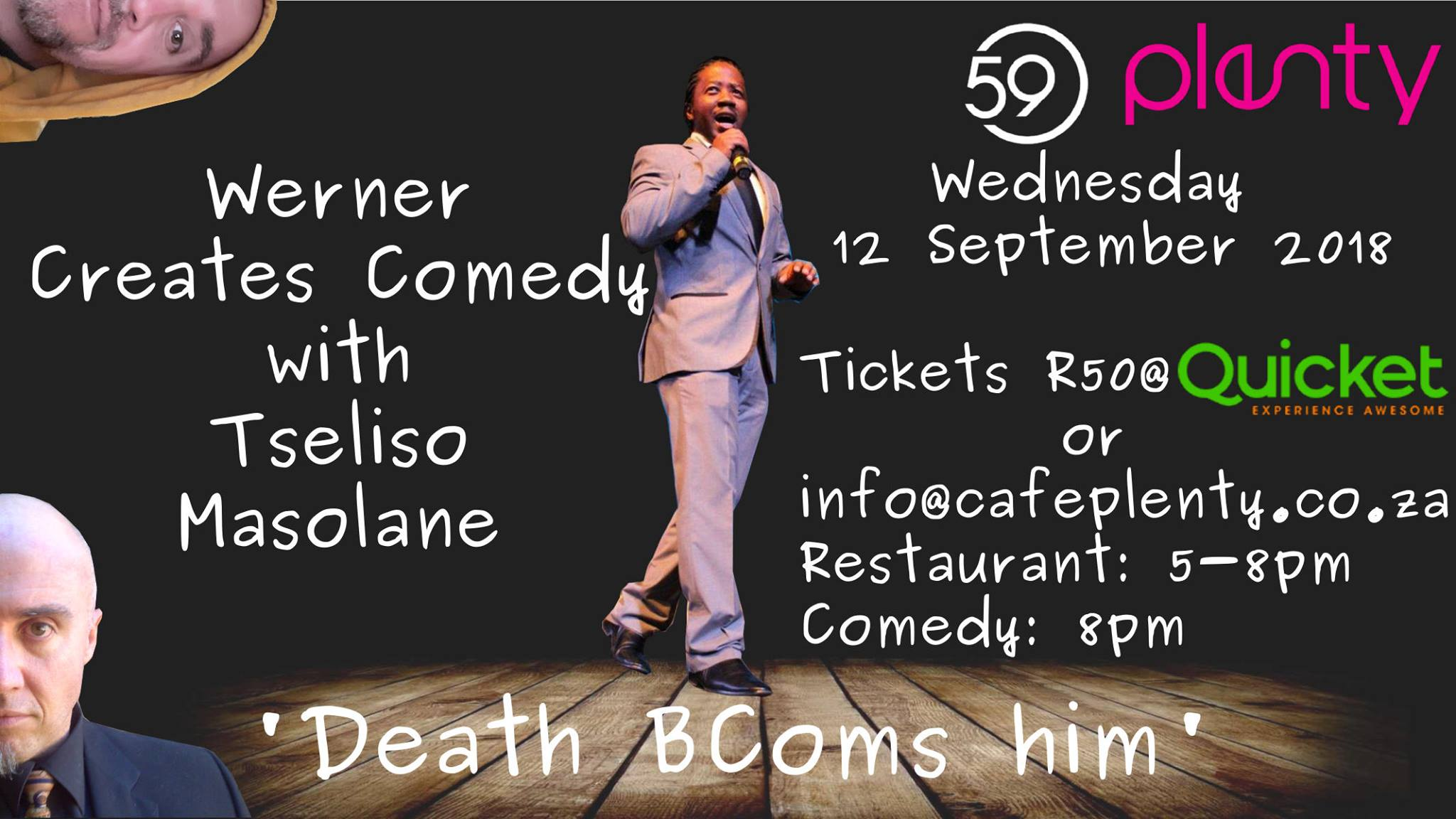 Stand-up Comedy: Death BComs him