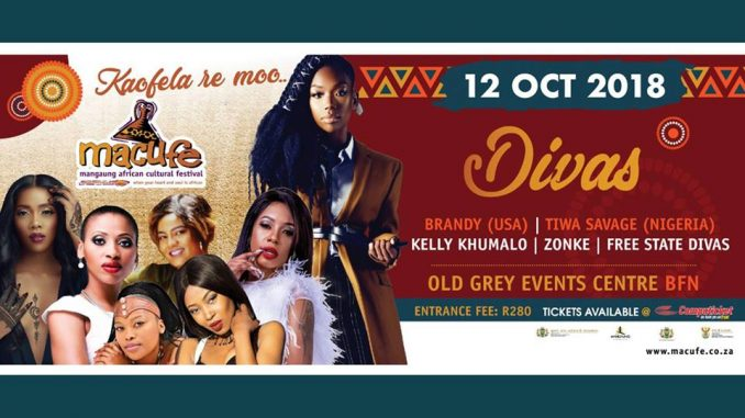 Official Macufe Divas Poster Wide