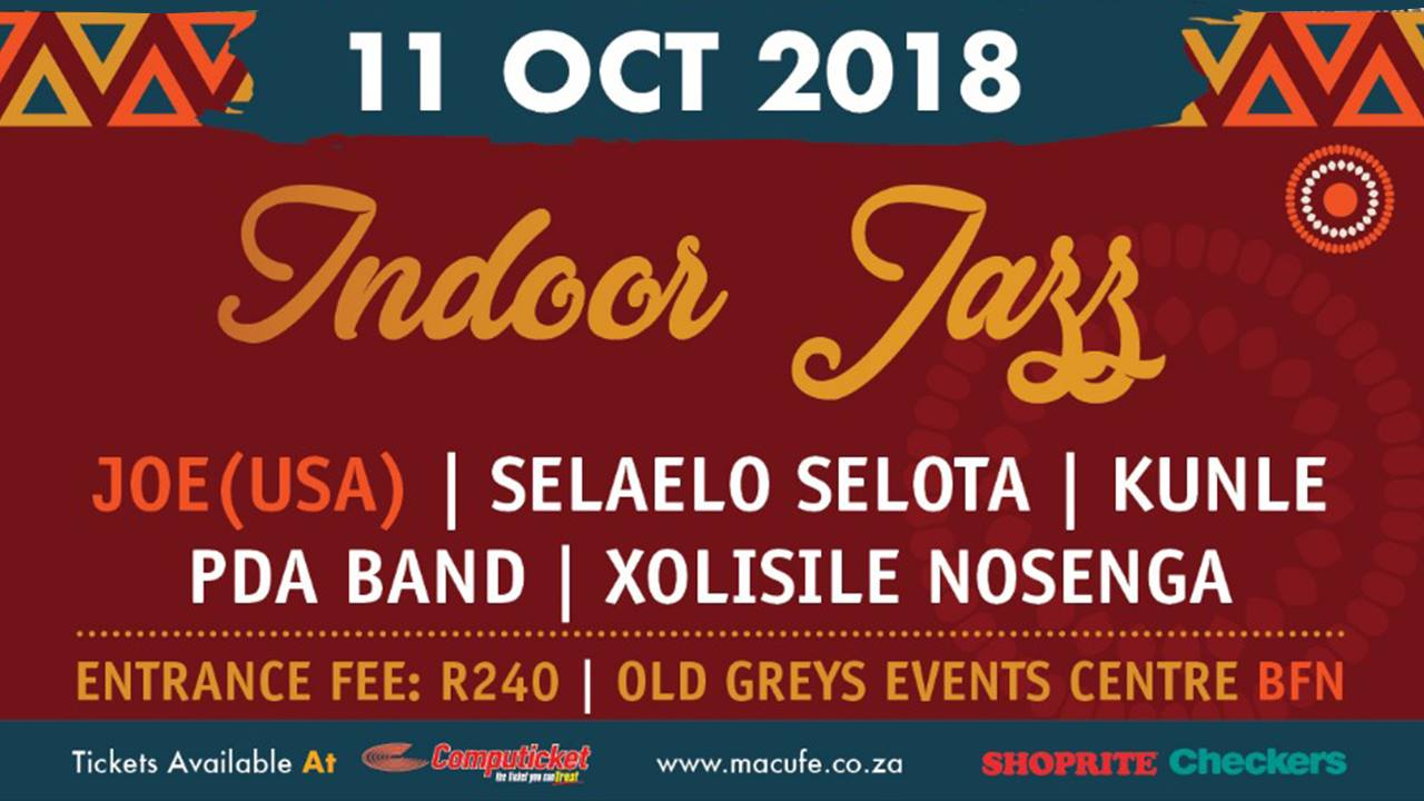 Macufe Indoor Jazz - 2018