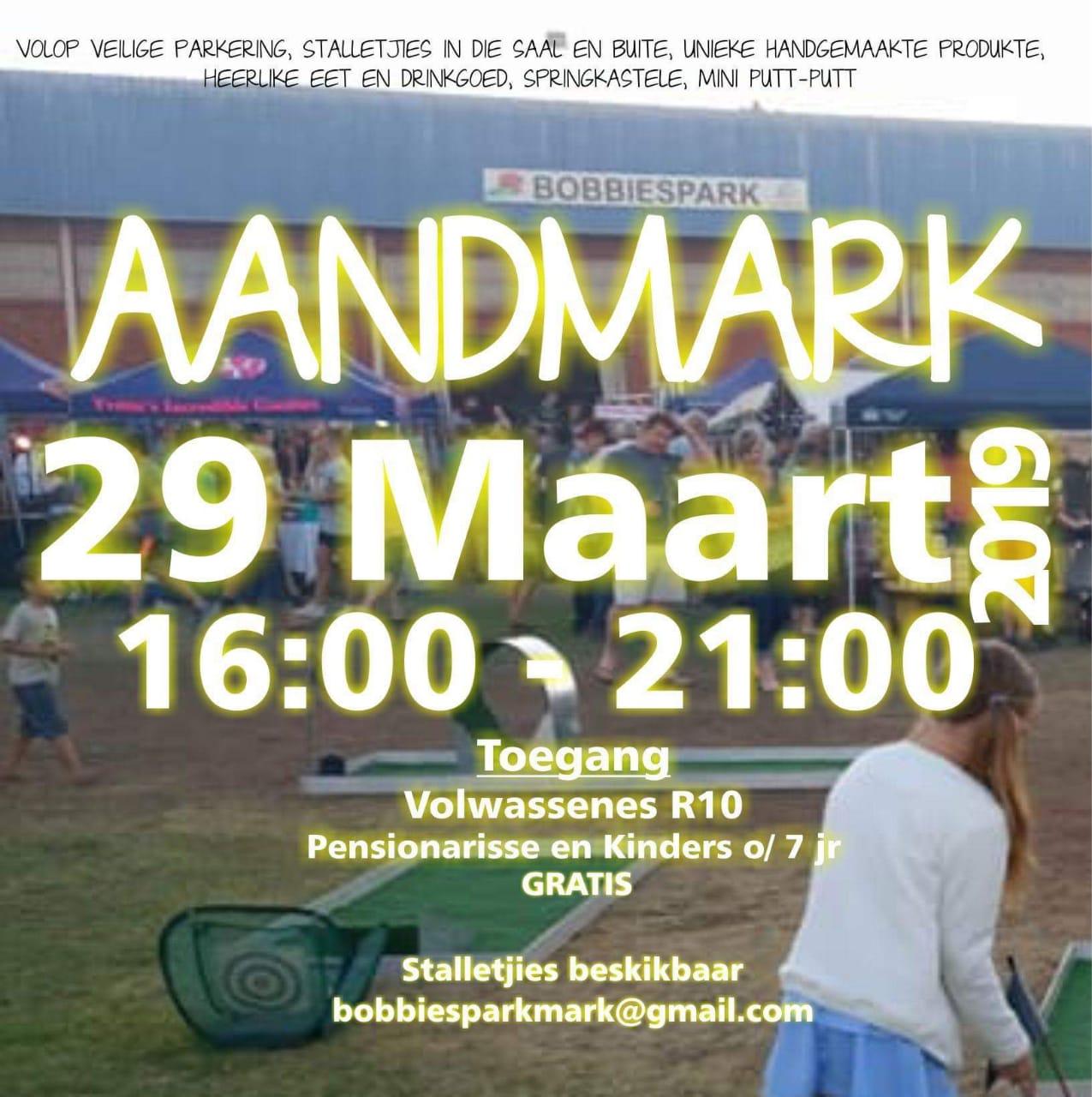Aandmark @ Bobbiespark
