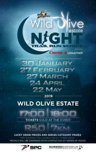 Night Trail Run Series | Events in Bloemfontein