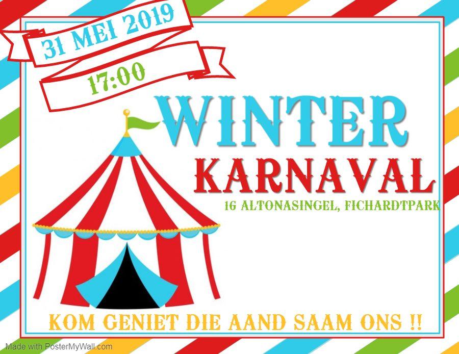 Winter Karnaval Familie Mark