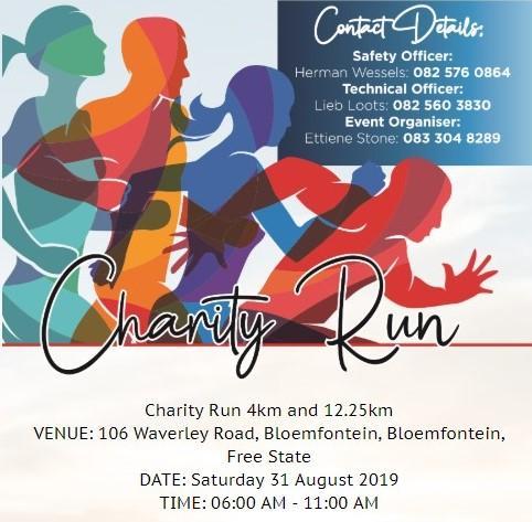Charity Run 4km & 12.25km