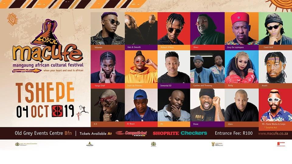 Macufe Festival 2019: Tshepe (Hip Hop)